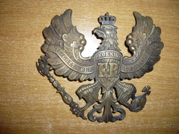 Aigle Casque à Pointe Officier Prussien - 1914-18
