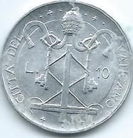 Vatican City - Paul VI - 1967 - 10 Lire - KM95 - Vatican
