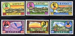 ETP261 - ETIOPIA 1964 ,  Yvert  N 434/439    ***  Re Etiopi - Etiopia