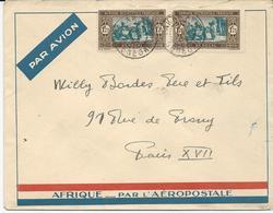 3 LETTRES  PAR AVION 1934/ AFRIQUE PAR L'AEROPOSTALE - Senegal (1887-1944)