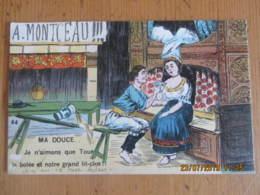 Cpa BRETAGNE  A. MONTCEAU  Ma Douce.. - Folklore
