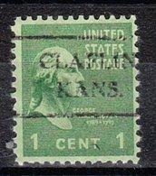 USA Precancel Vorausentwertung Preo, Locals Kansas, Claflin 716 - Vorausentwertungen