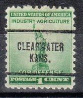 USA Precancel Vorausentwertung Preo, Locals Kansas, Claywater 704 - Vereinigte Staaten