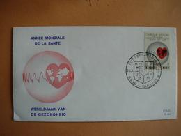 Médecine. Gullegem: 1619 Cachet Temporaire 25.3.72. Année Mondiale De La Santé. - Belgique