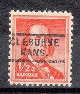 USA Precancel Vorausentwertung Preo, Locals Kansas, Cleburne 729 - Vereinigte Staaten