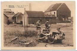 CPA PK  VILVORDE  POSTE DE T.S.F  VILVOORDE RADIOPOST - Belgique