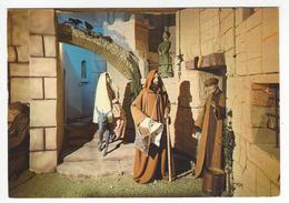 La Creche De CHALLANS.- A Bethleem, La Veillee De Noel. Pas De Place Pour Eux à L'Hotellerie - Challans