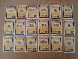 LOT DE 18 CARTES CRADOS PRIX ET PERMIS - Other Collections