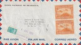 NICARAGUA AIRMAIL COVER - Nicaragua