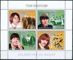 NB - [30462]SUP//**/Mnh-c:15e-RD CONGO 2006 - Célébrités Du Monde - The Beatles. - Musik
