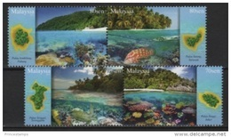 Malaysia (2016) - Set -  /  Marine Fauna - Turtle - Fishes - Poissons - Fische - Fishes