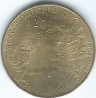 Vatican City - Paul VI - 1966 - 20 Lire - KM88 - Vatican