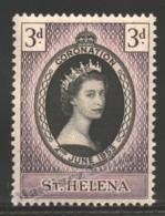 Sainte Helene - Saint Helena 1953 Yvert 121, Coronation Queen Elizabeth II - MNH - Saint Helena Island