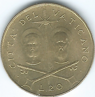 Vatican City - Paul VI - 1967 - 20 Lire - KM96 - Vatican