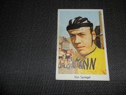 Sport ( 15 )  Coureur  Wielrenner  Renner  Cycliste :   Van Springel - Wielrennen