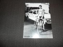 Sport ( 17 )  Coureur  Wielrenner  Renner  Cycliste :   Christian Calzati  -  Reclame Op Achterkant - Wielrennen
