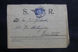 PORTUGAL - Enveloppe De La Direction De L 'Aéronautique Pour Paris En 1933 - L 36117 - 1910-... République