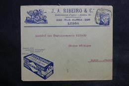 PORTUGAL - Enveloppe Commerciale De Lisbonne Pour Paris En 1933 - L 36118 - 1910-... République
