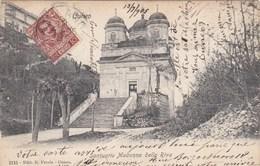CUNEO-SANTUARIO MADONNA DELLA RIVA-CARTOLINA VIAGGIATA IL 14-7-1905 - Cuneo