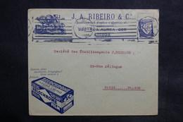 PORTUGAL - Enveloppe Commerciale De Lisbonne Pour Paris En 1933 - L 36120 - 1910-... République
