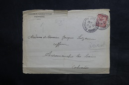 FRANCE - Enveloppe ( Devant ) De L 'Assemblée Consultative Provisoire Pour Arromanches En 1945 - L 36122 - Marcophilie (Lettres)