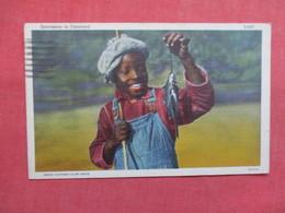 Black Americana   Fishing Sportsman In Dixieland   Ref 3498 - Black Americana