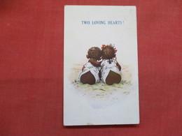 Black Americana   Two Loving Hearts    Ref 3498 - Black Americana
