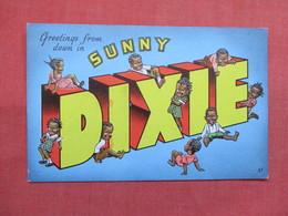 Black Americana   Greetings Sunny Dixie     Ref 3498 - Black Americana