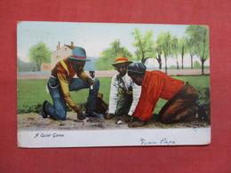Black Americana  A Quiet Game      Ref 3498 - Black Americana