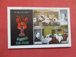 Lobster Eugene's Sea Food Wisconsin > Milwaukee     Ref 3498 - Milwaukee