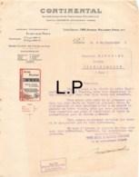 30-0357    1908 CONTINENTAL A PARIS - M. FOUCHARD A HENRICHEMONT - France