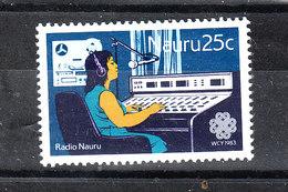 Nauru   -  1983.  Radio Nauru. MNH - Telecom