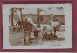 LEOPOLDSBURG (kamp Van Beverloo):  Soldaten-met Volk-1911-FOTOKAART - Leopoldsburg (Camp De Beverloo)