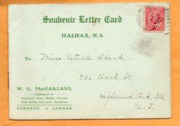 Halifax NS Canada 1905 Postcard Album - Halifax