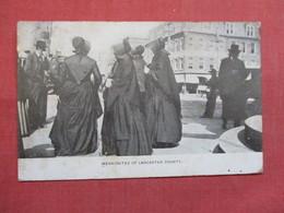 Mennonites Of  Lancaster County Pennsylvania > Lancaster  Ref 3498 - Lancaster