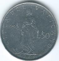 Vatican City - Paul VI - 1965 - 50 Lire - KM81.2 - Vatican