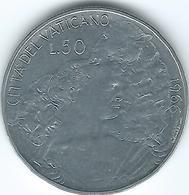 Vatican City - Paul VI - 1966 - 50 Lire - KM89 - Vatican