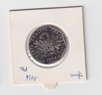2 Francs, 1994, FDC, Nickel  Semeuse Belle épreuve BE - France