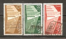 España/Spain-(usado) - Edifil  1196-98 - Yvert  887-89 (o) - 1931-Aujourd'hui: II. République - ....Juan Carlos I