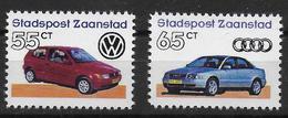 Netherlands Stadspost Zaanstad Local Mail Privatpost Car Auto Audi Volkswagen - Automobili