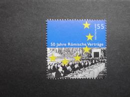 Deutschland   Mitläufer  50 Jahre Römische Verträge   2007      ** - Idee Europee