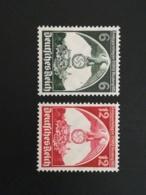 1935 Reichsparteitag  ** Mi.Nr. 586-72 Mi.Pr. 25.--€ - Deutschland
