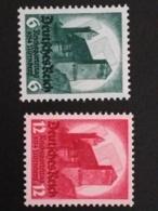 1934 Reichsparteitag   ** Mi.Nr. 546-72 Mi.Pr. 85.--€ - Deutschland