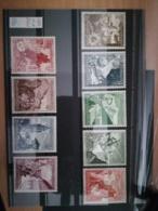 1938 Winterhilfswerk  ** Mi.Nr. 675-83 Mi.Pr. 100.--€ - Deutschland