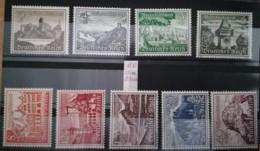 1937 Winterhilfswerk  ** Mi.Nr. 651-598 Mi.Pr. 100.--€ - Deutschland