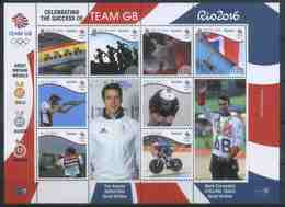 Isle Of Man 2016 Sport, Summer Olympic Games In Rio De Janeiro, Medals - Eté 2016: Rio De Janeiro