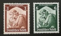 1935 Saarabstimmung  ** Mi.Nr. 565-8 Mi.Pr. 120.--€ - Deutschland