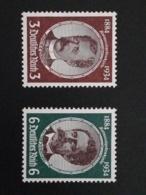 1934 Kolonialforscher  ** Mi.Nr. 540-3 Mi.Pr. 190.--€ - Deutschland