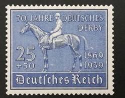 1939 Blaues Band ** Mi.Nr. 698 Mi.Pr. 80.--€ - Deutschland