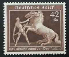 1939 Braunes Band ** Mi.Nr. 699 Mi.Pr. 80.--€ - Deutschland